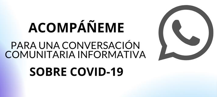 Una conversacion en espanol comunitaria informativa sobre COVID-19