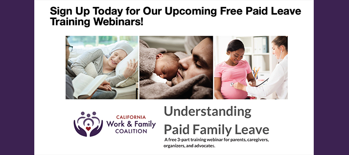Upcoming Paid Leave Training Webinar