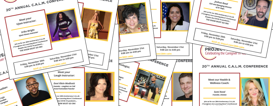 20th Annual C.A.L.M. Conference: MEET THE PRESENTERS!