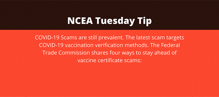 Four Ways to Stay Ahead of COVID-19 Vaccine Certificate Scammers